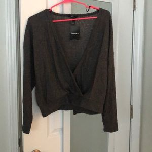 Deep V sweater, never worn